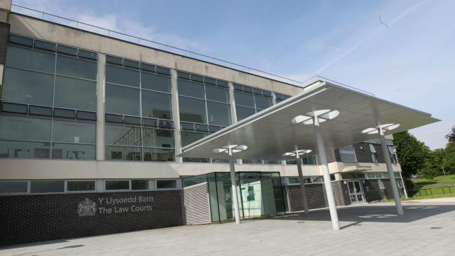 The law courts at Mold