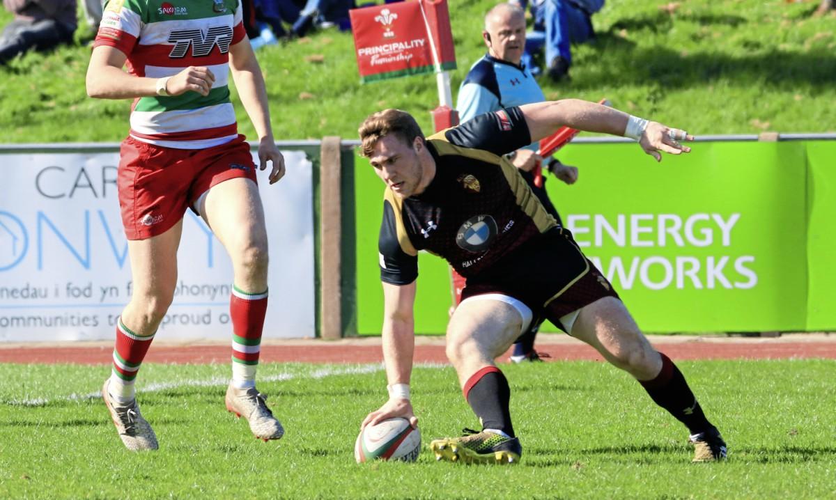RGC boosted their title hopes with victory over Bedwas (Photo: Tony Bale)