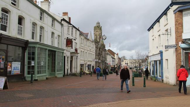 Holywell High Street has been open to traffic since 1992