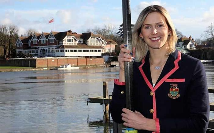 Wrexham's Vicky Thornley celebrates Leander Club captaincy with GB Trials  success