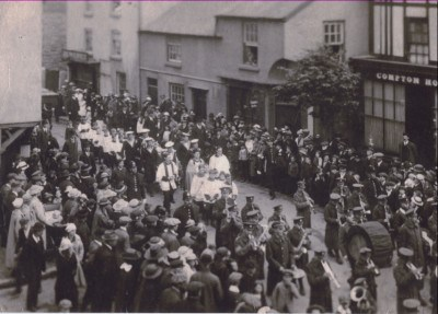 Walter Whitley's funeral in Mold