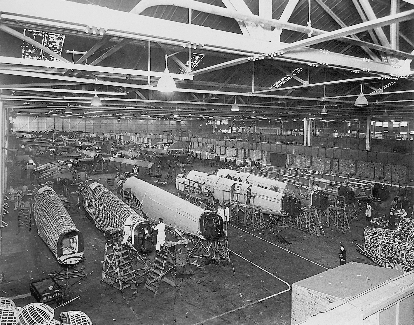 The Wellington production line at Broughton