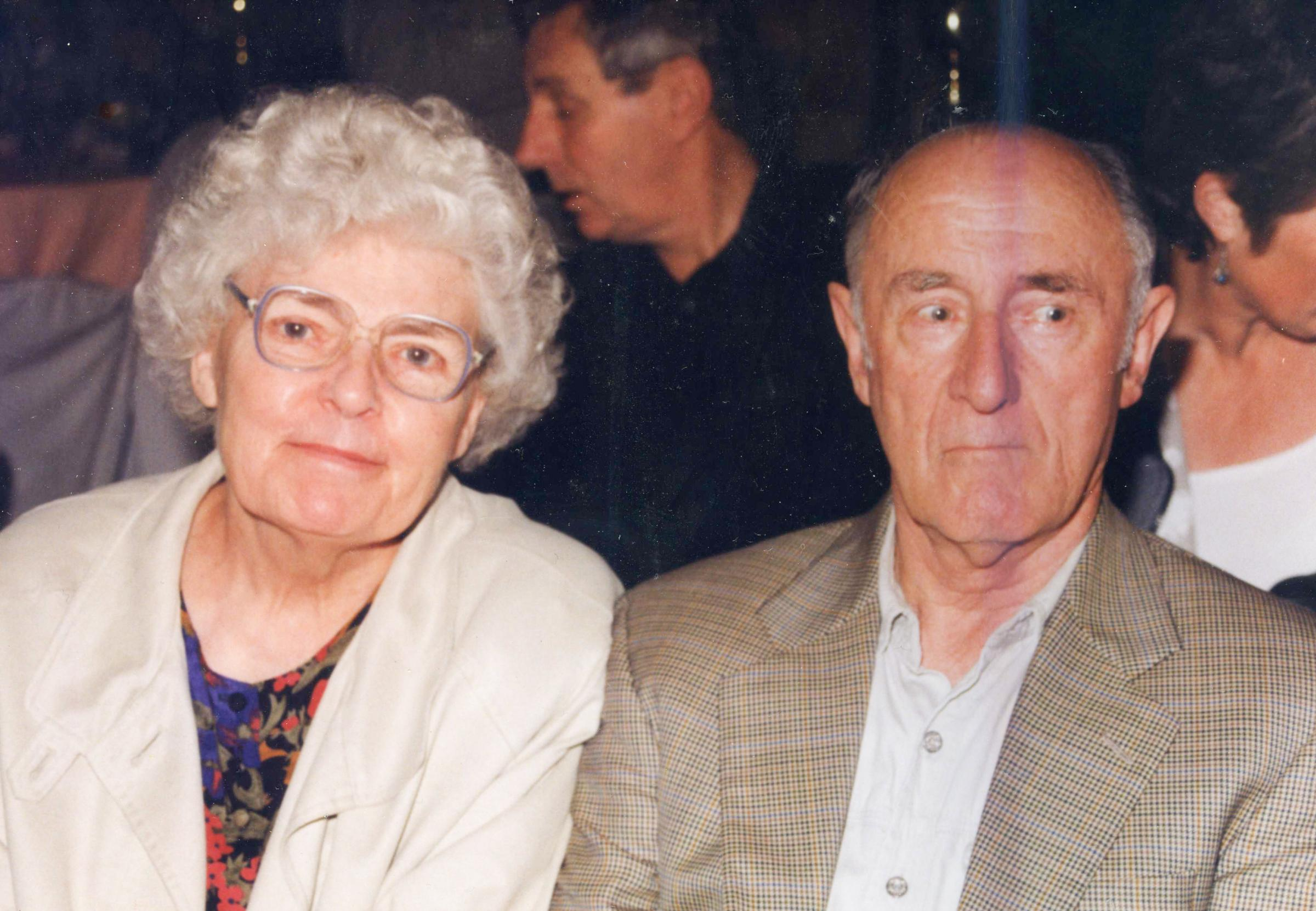 Freda Hynes and her husband of 63 years, Jim. Submitted pic.
