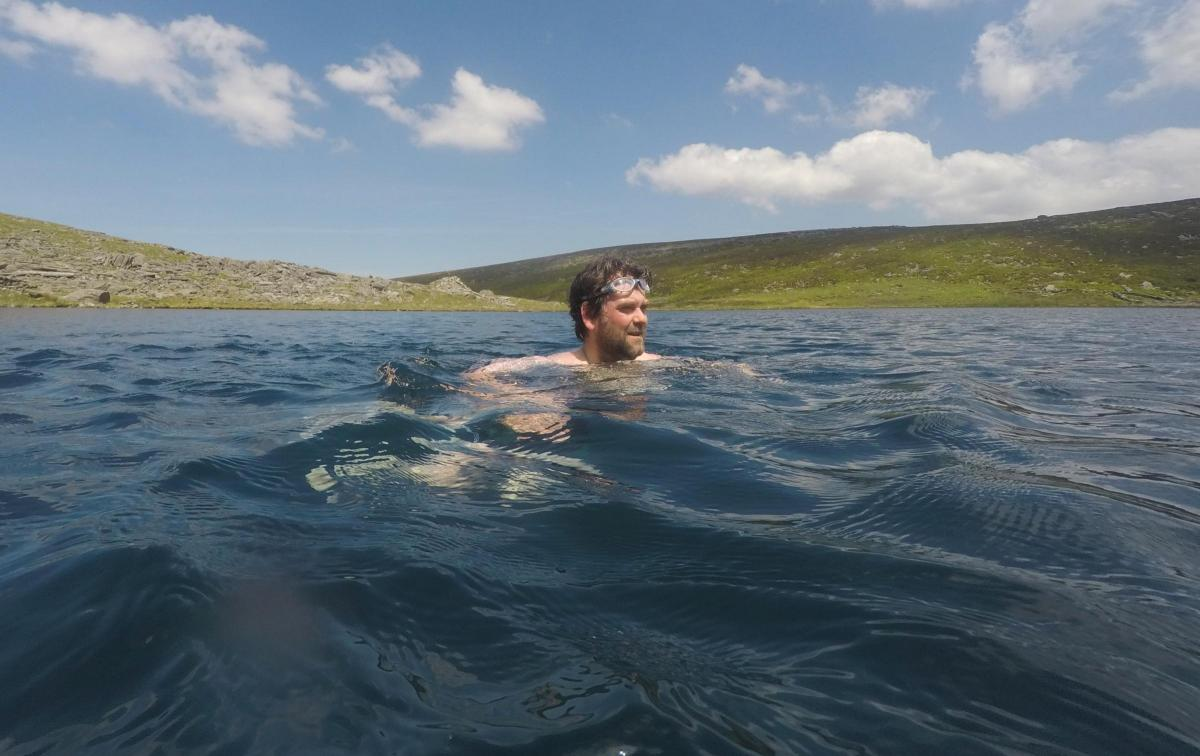 a dip in the poole