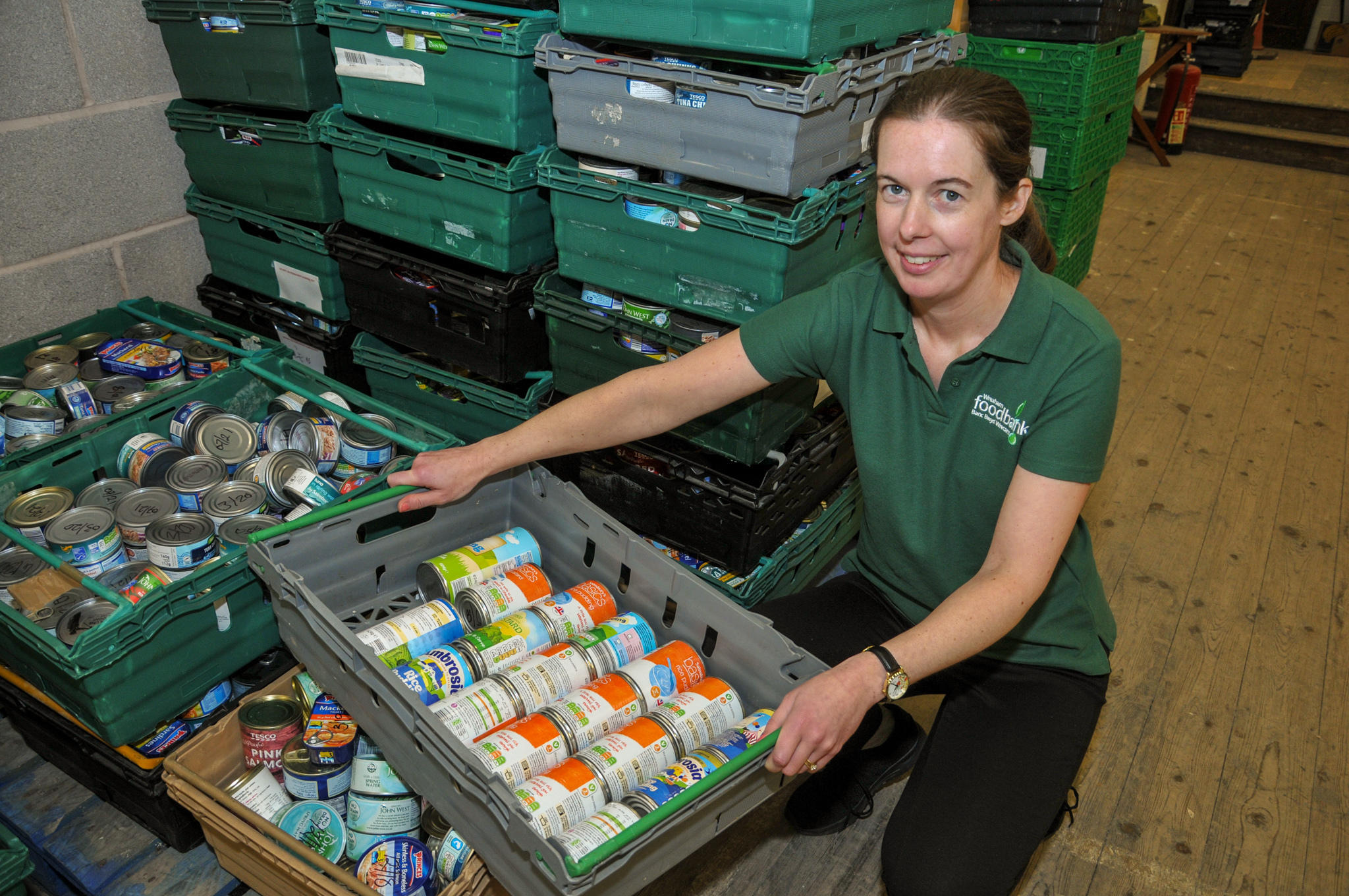 Wrexham Foodbank Warehouse, behind St. James Church Rhosddu Road