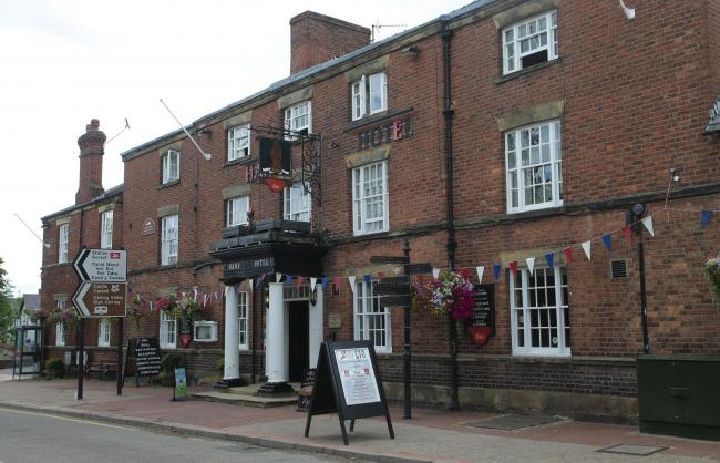 The Hand Hotel, Chirk