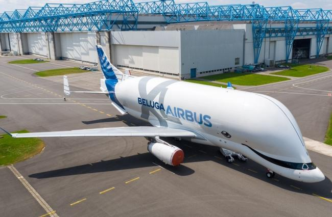 Airbus' Beluga XL sets off on its maiden flight today