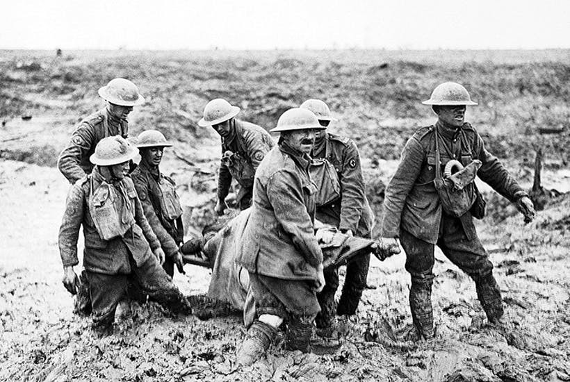 Stretcher bearers in the First World War