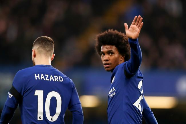 Maurizio Sarri: Eden Hazard and Willian leaving Chelsea is ...