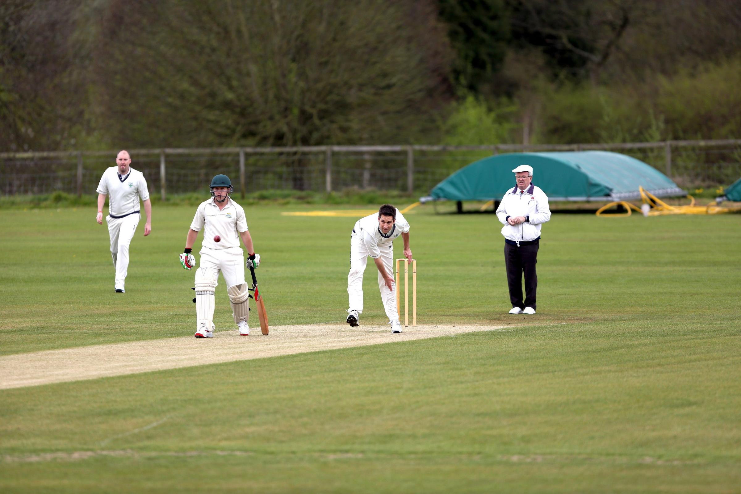BACK IN ACTION: Hawarden Park all-rounder Campbell Marr