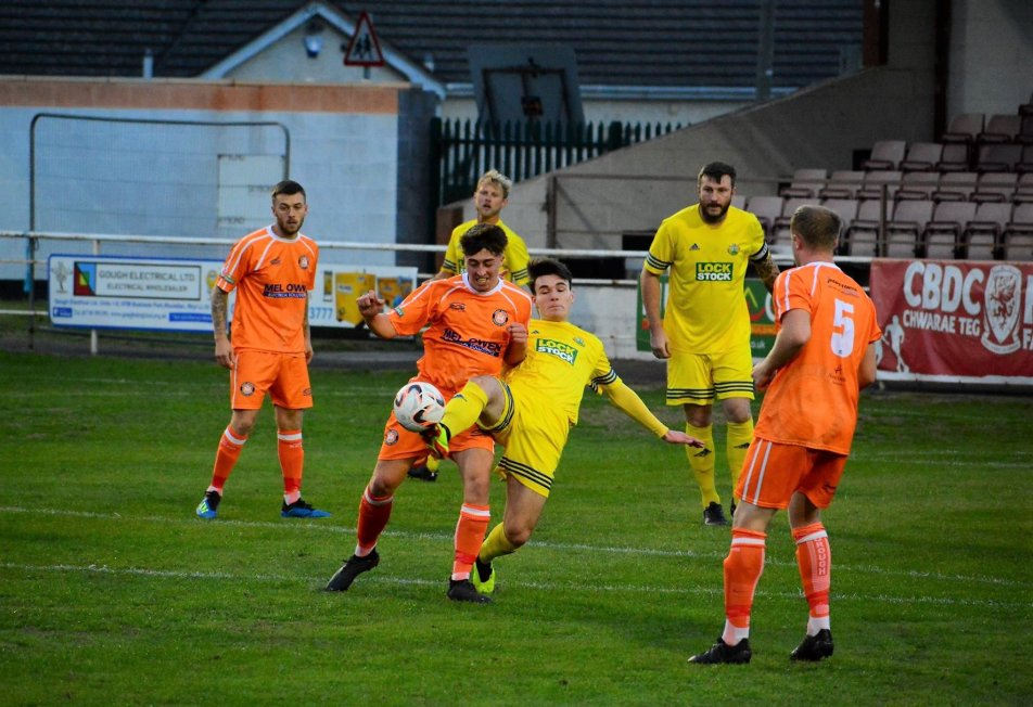 Conwy Borough secured an away point at Holywell Town