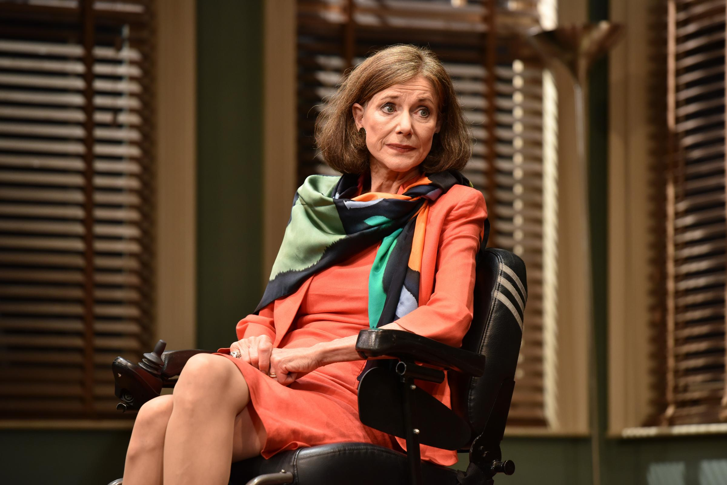 Belinda Lang as Stephanie Abraham in Duet For One