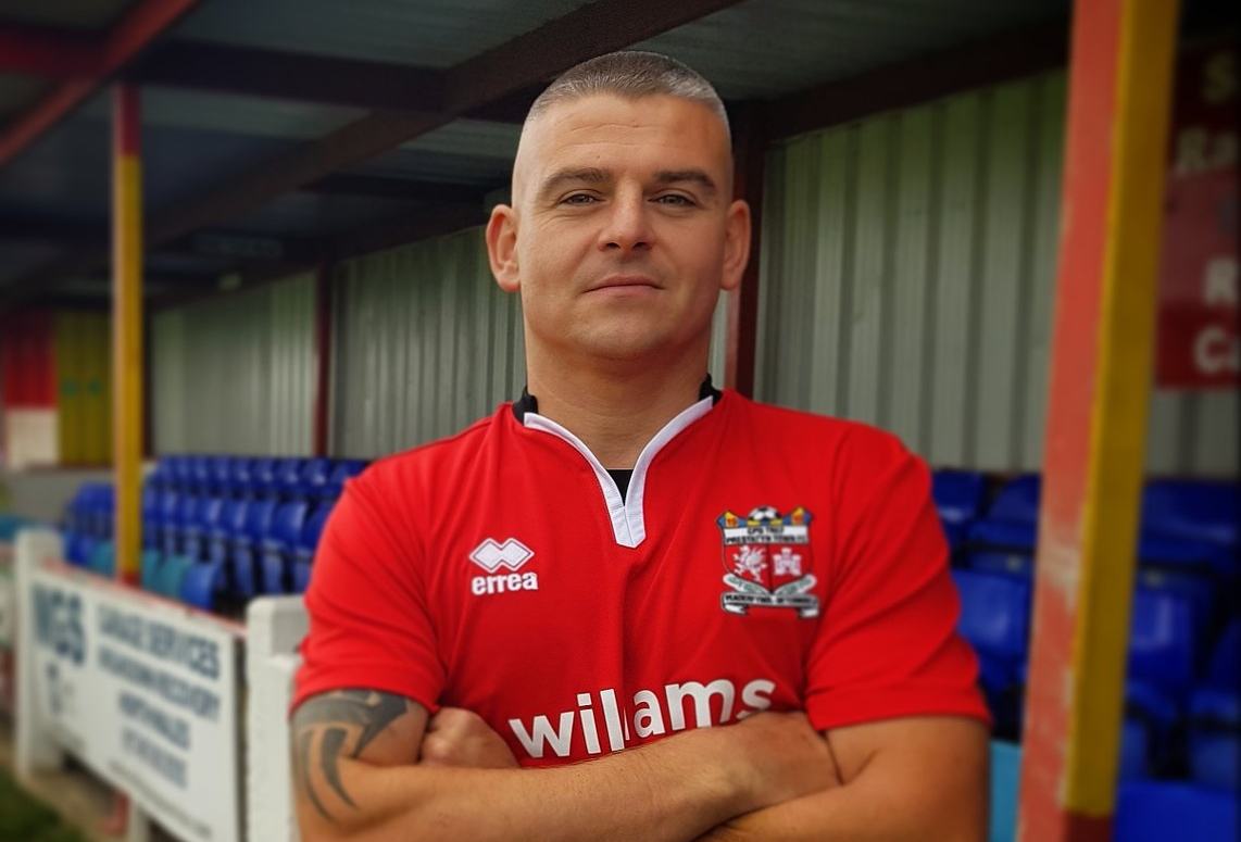 New Prestatyn Town signing Ian Griffiths