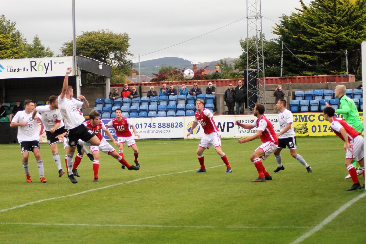 Action from Rhyl's defeat to Gresford Athletic
