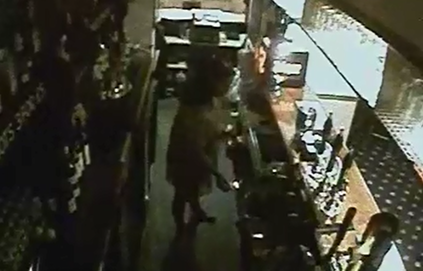 Watch CCTV footage of the moment landlady from Flintshire torched her own pub