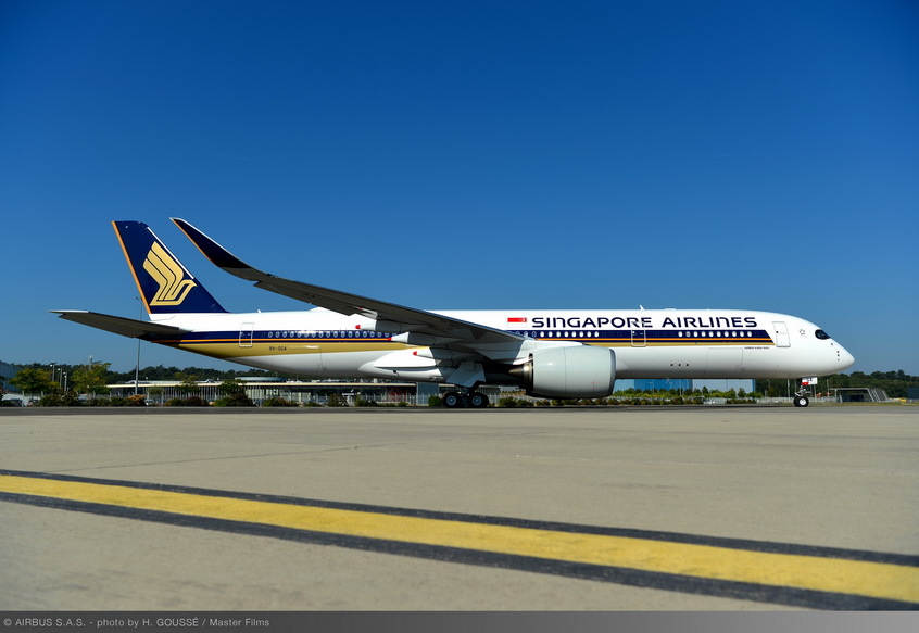 Singapore Airlines' A350-900 Ultra Long Range (ULR) aircraft