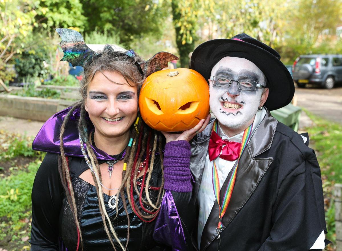 deeside deeside put on spooky costumes for halloween party | the leader