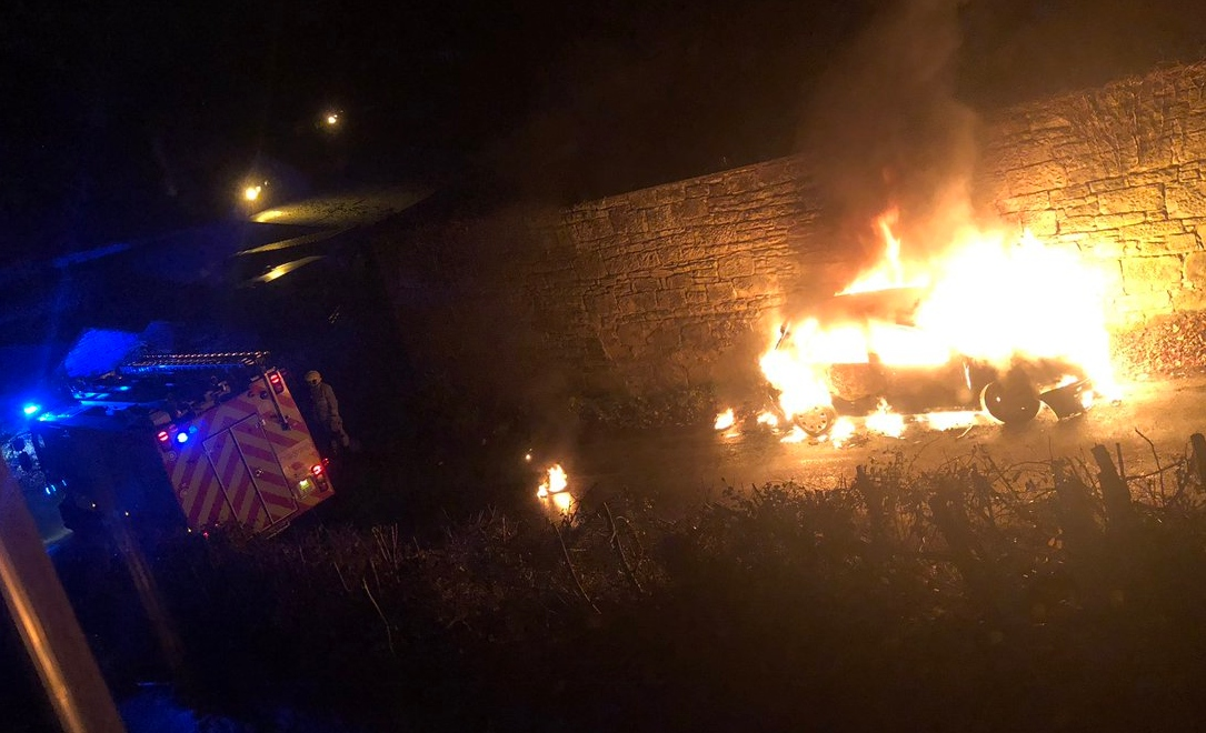 Car arson leaves residents on new Wrexham housing estate shocked and scared