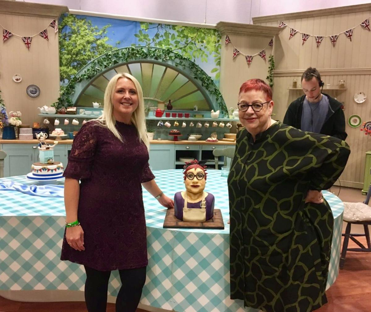 great british bake off keen baker who crafts amazing cake of tv s
