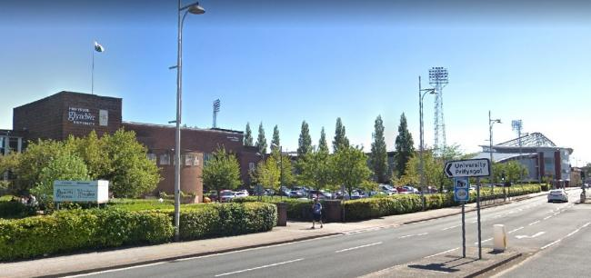 A masterplan is being drawn up for Mold Road, which one of the key gateways into Wrexham. Source: Google Street View