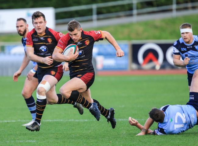 Tom Hughes has officially joined the RGC 100 club (Photo byTony Bale)
