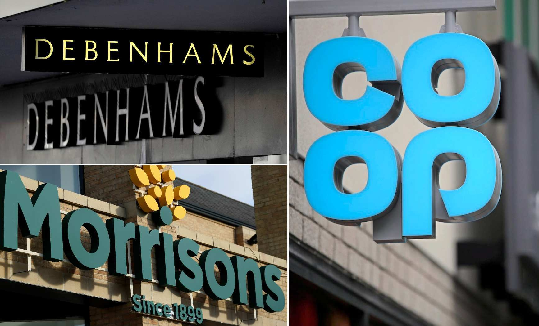 Shoplifter is banned from every Co-op, Morrisons and Debenhams in England and Wales