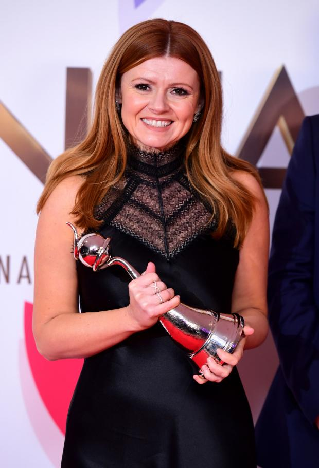 The Leader: Sian Gibson with her National TV Award