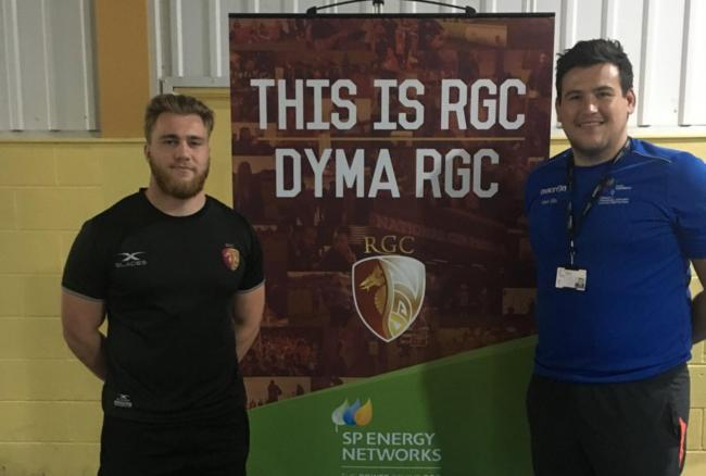 RGC star Rhys Williams is the new rugby skills co-ordinator at Coleg Cambria