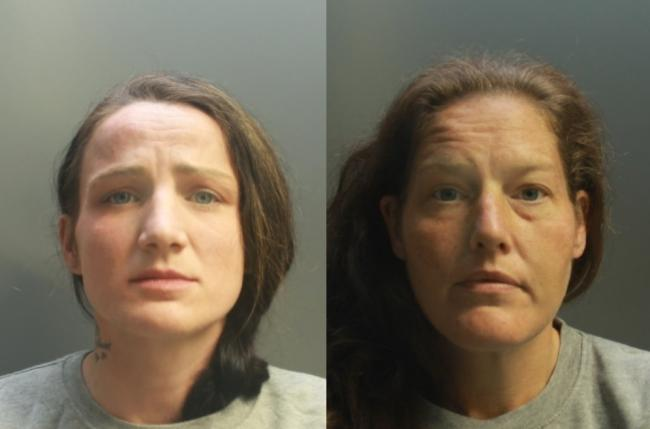 Mary Ellen Stokes, left, and Joanne Roberts. Images: North Wales Police