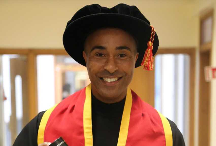 Olympic athlete Colin Jackson will be installed as Glyndwr University Chancellor next week
