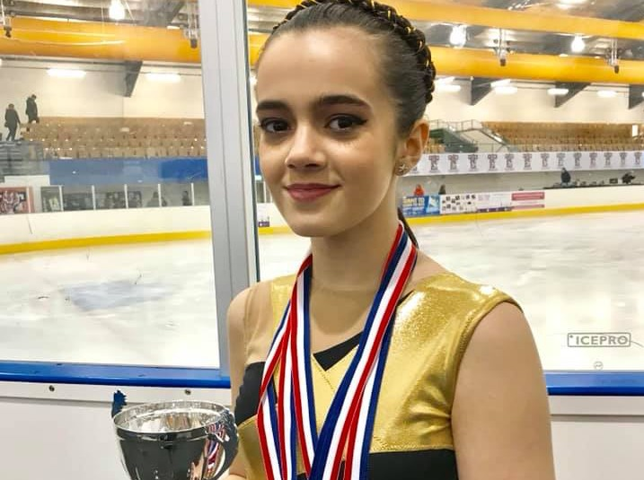 Mold's Lily Bakhtiari, who is taking the world of ice skating by storm