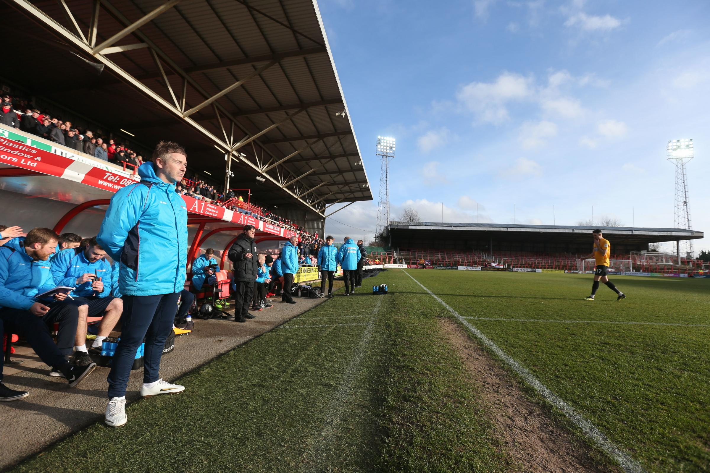 Bryan Hughes delighted Wrexham AFC are back on track