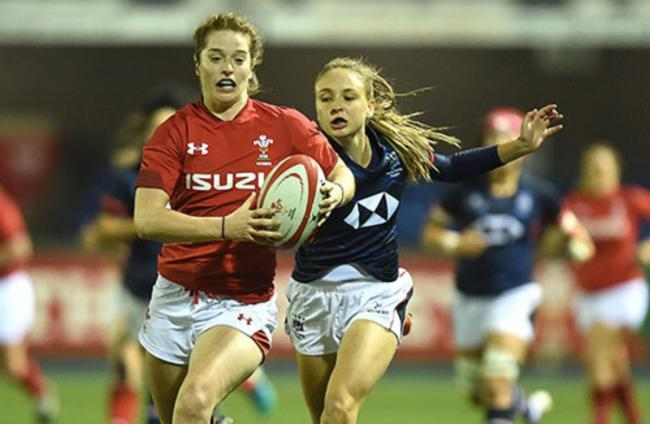 RGC back Lisa Neumann started for Wales in their draw at Italy