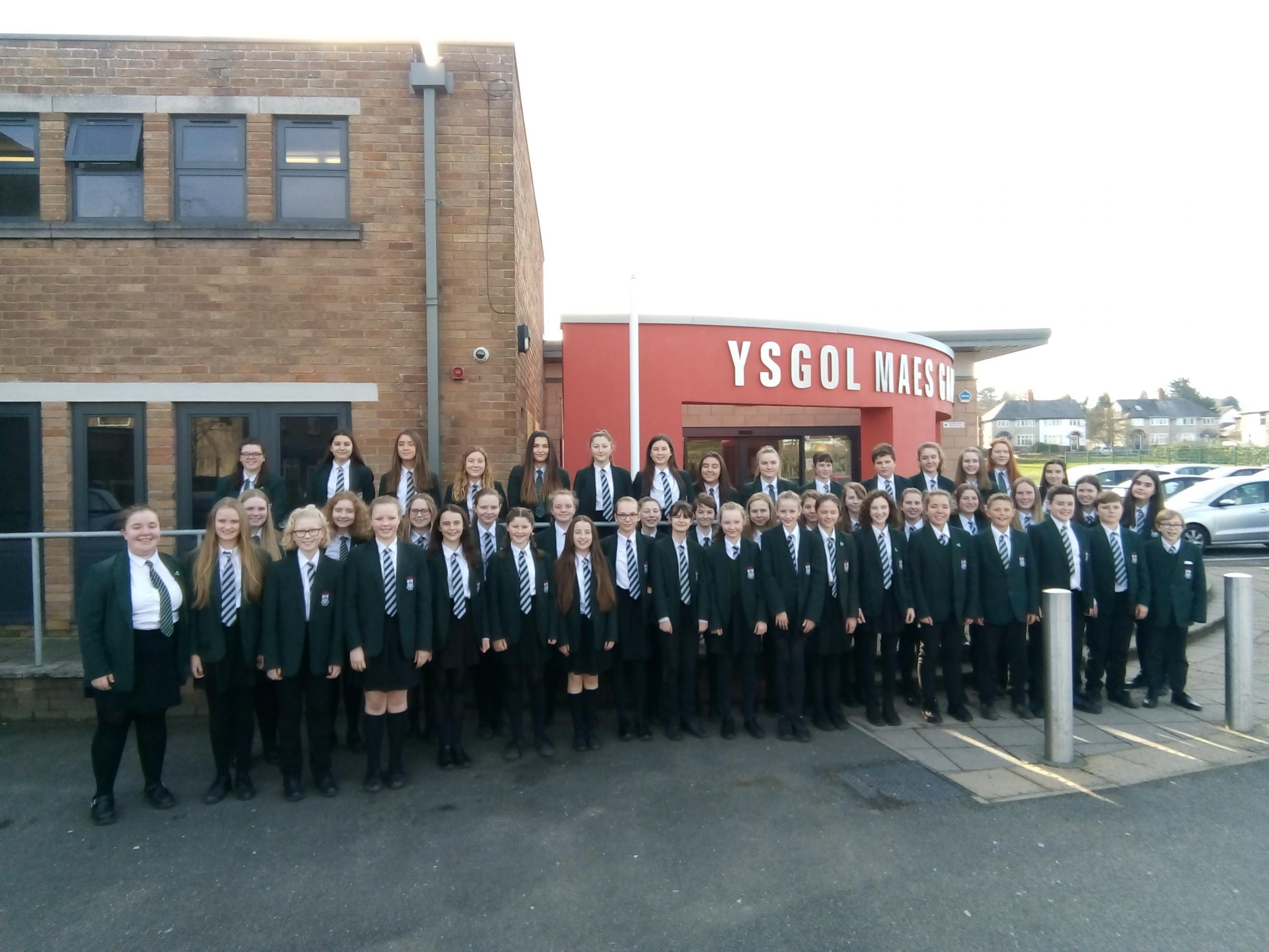 Mold school choir to take part in national competition
