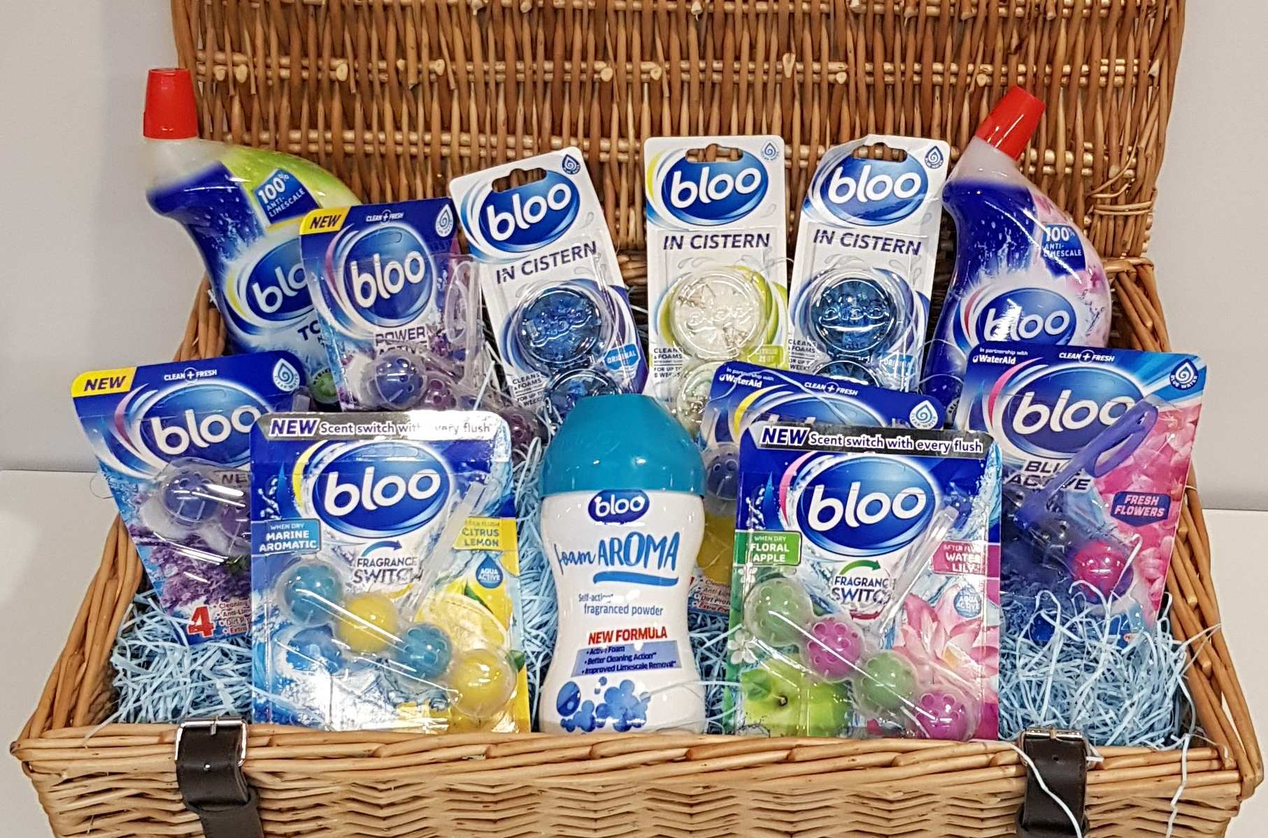 Win Bloo bathroom cleaning hamper worth £50