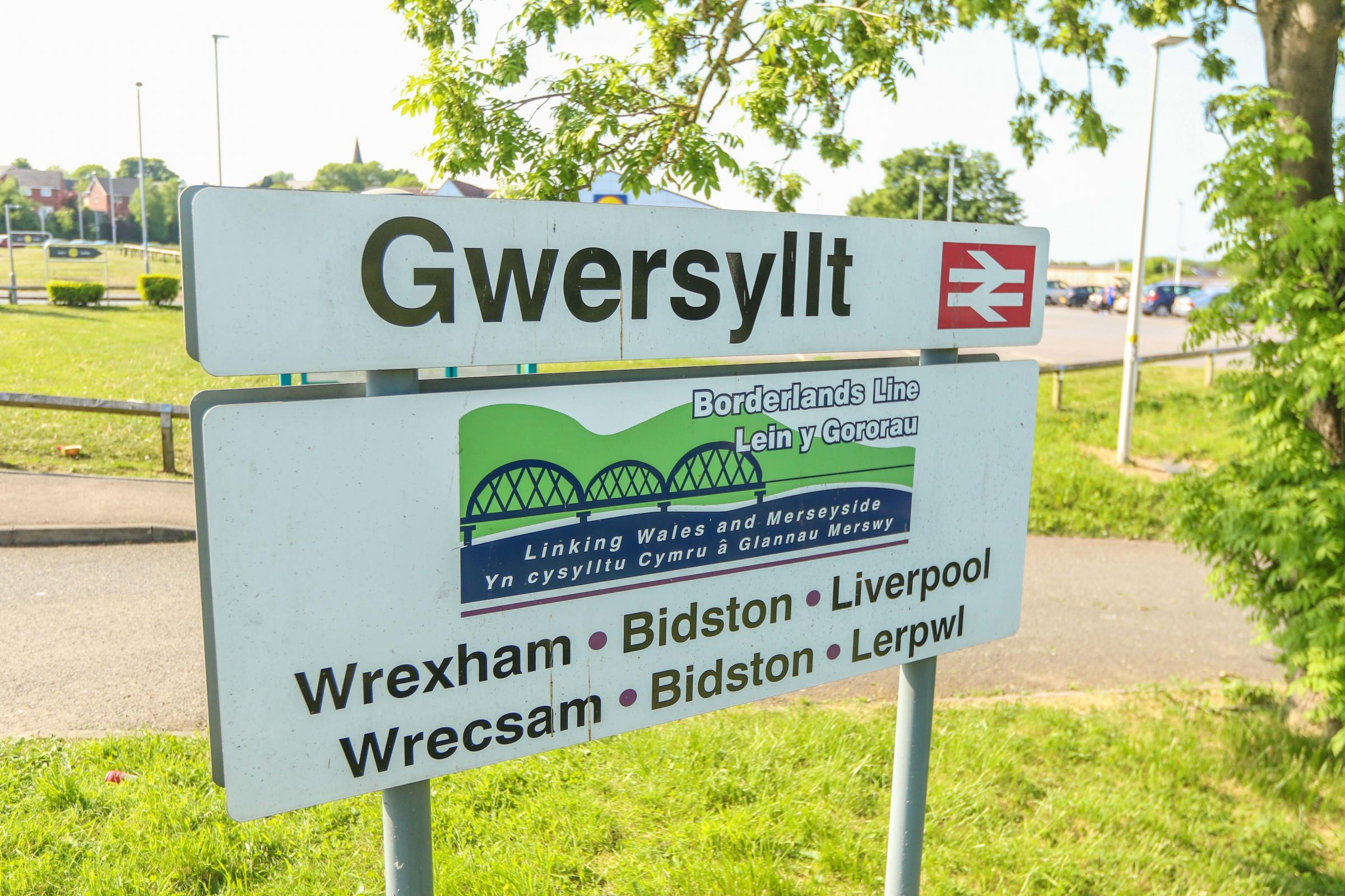 Wrexham man thinking of killing himself on rail line bit police officer trying to help him