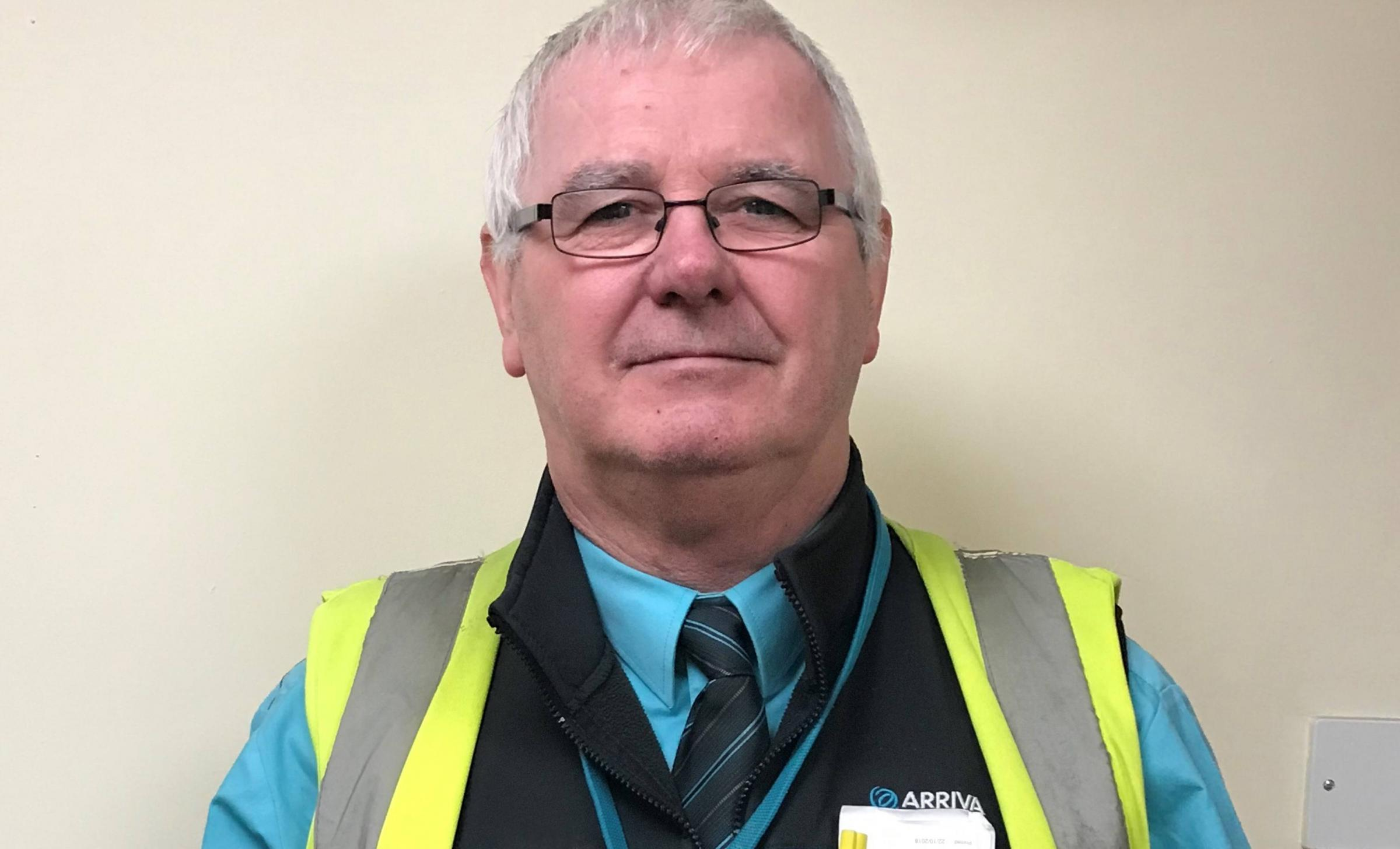 Bus driver from Mold is on route to win national award
