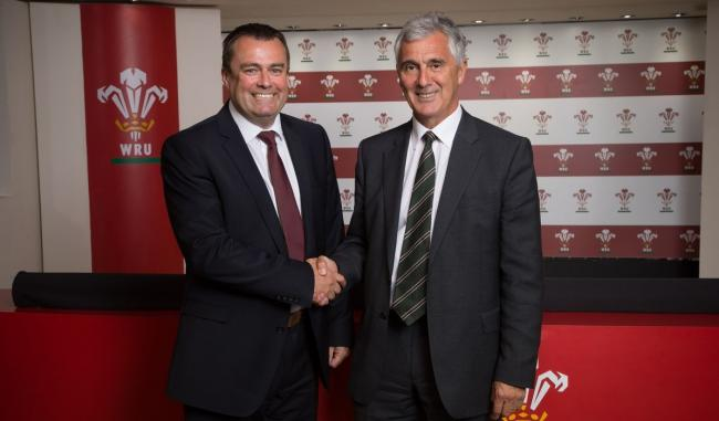WRU chief executive Martyn Phillips (left) has outlined the plans for Project Reset