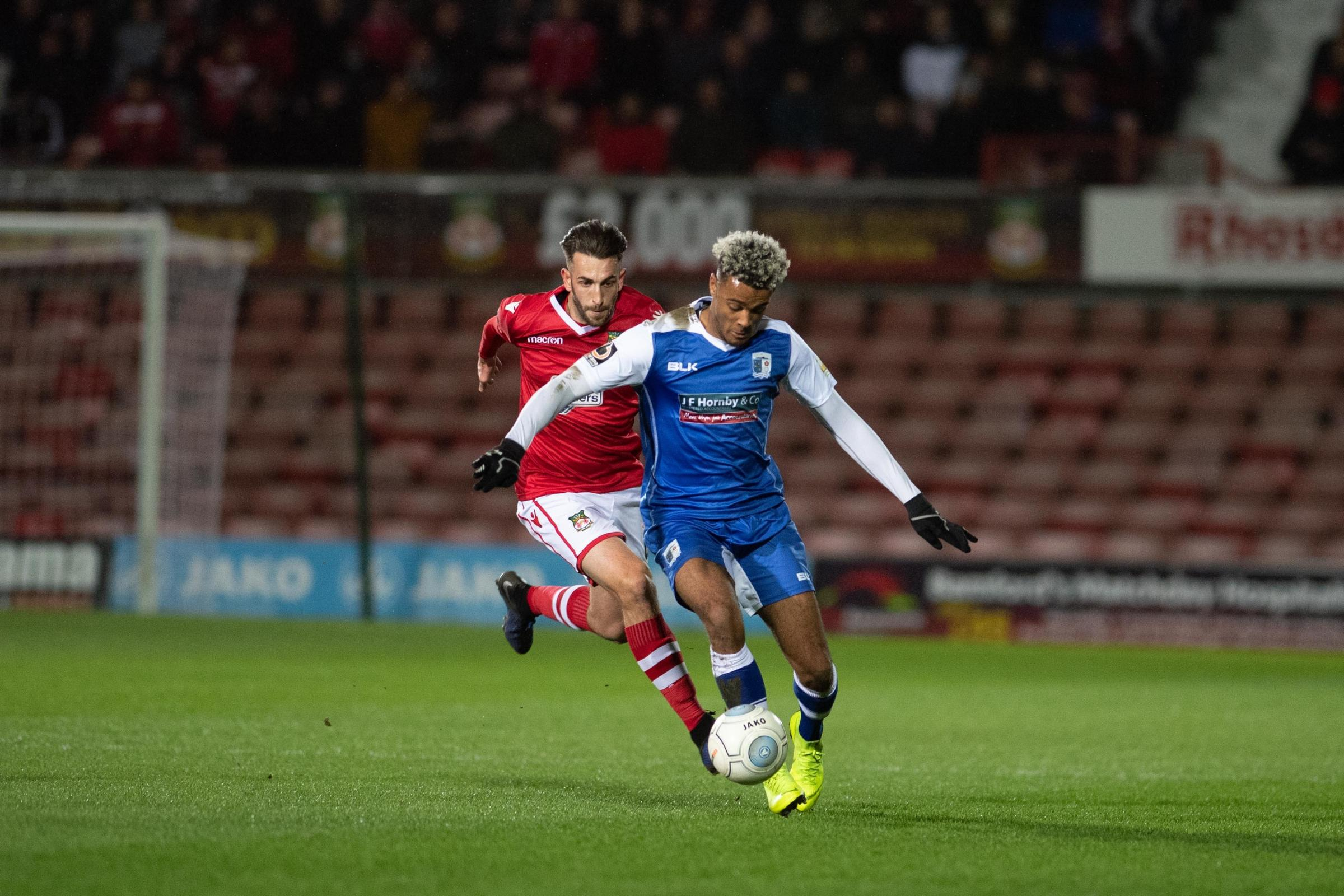 Wrexham AFC defender Kieran Kennedy is looking to make the most of his chance