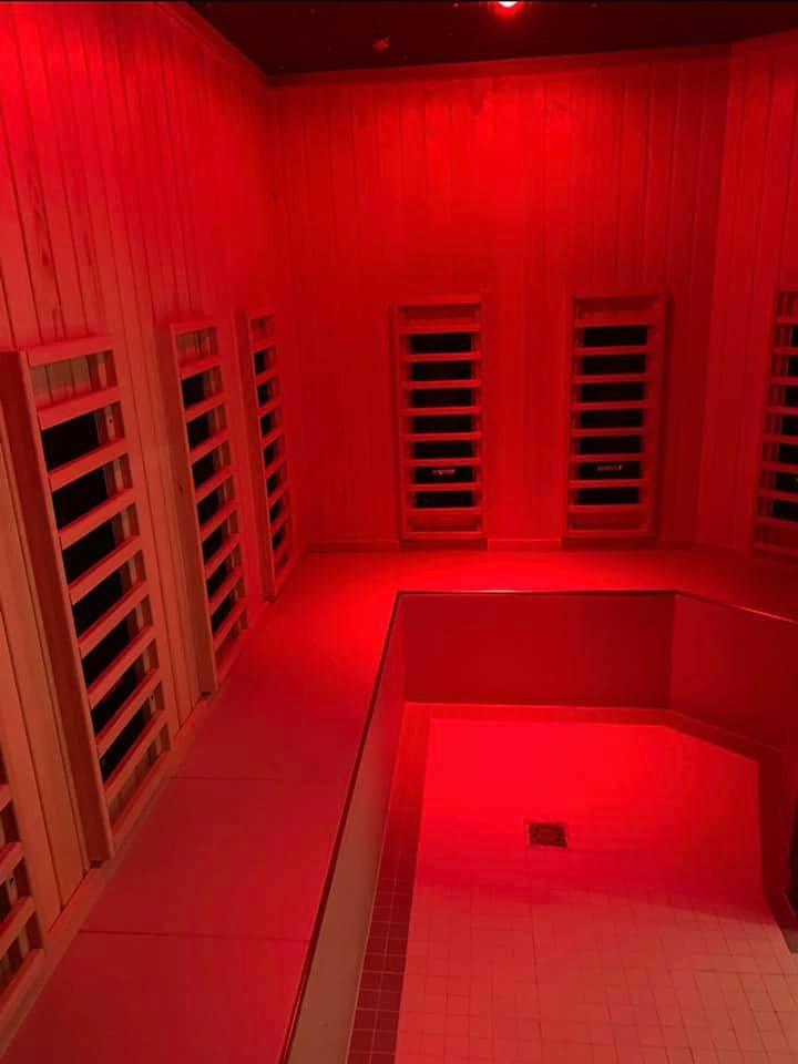 Deeside Leisure Centre unveils new infrared sauna