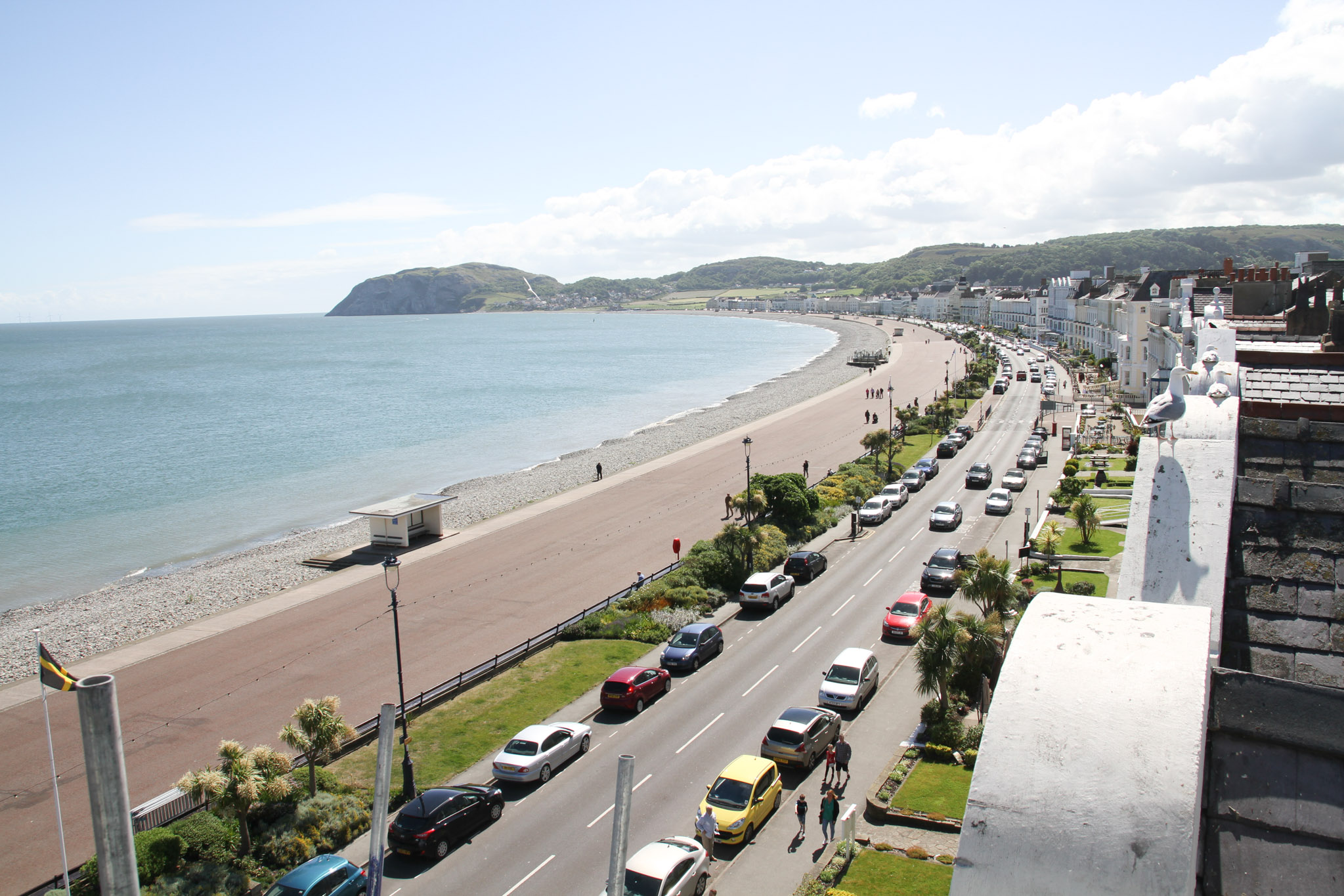 The young person absconded while in Llandudno