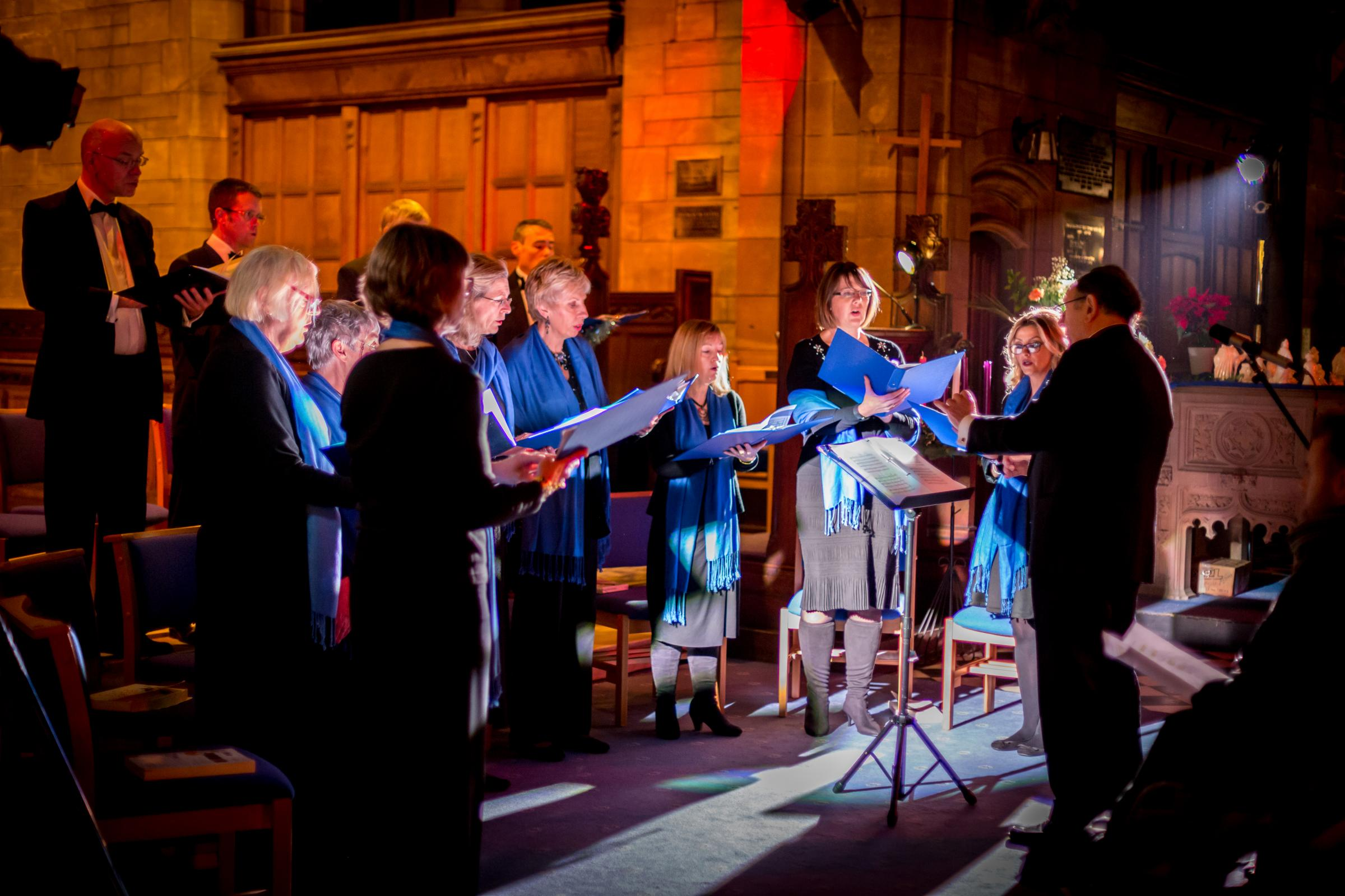 The Vale of Clywd Singers will perform at St Giles Church in Wrexham on Saturday, April 13.