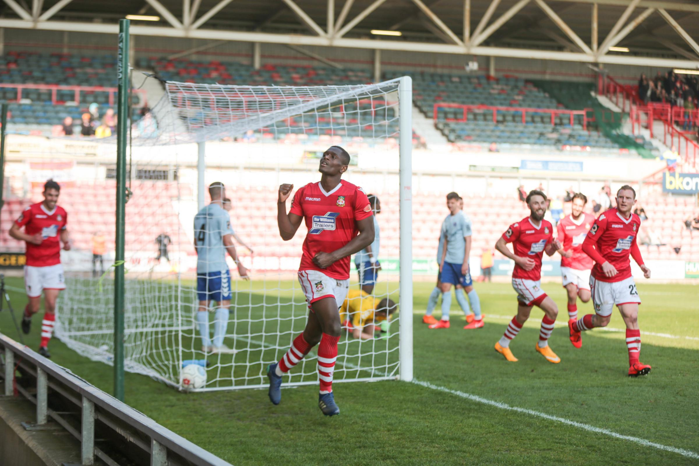 Akil Wright happy with the contribution from Wrexham AFC midfielders