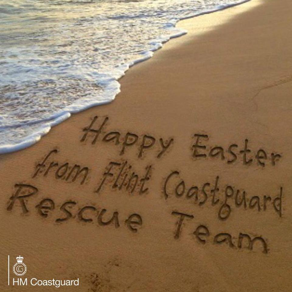 Flint Coastguard Rescue Team issues warning for Easter weekend