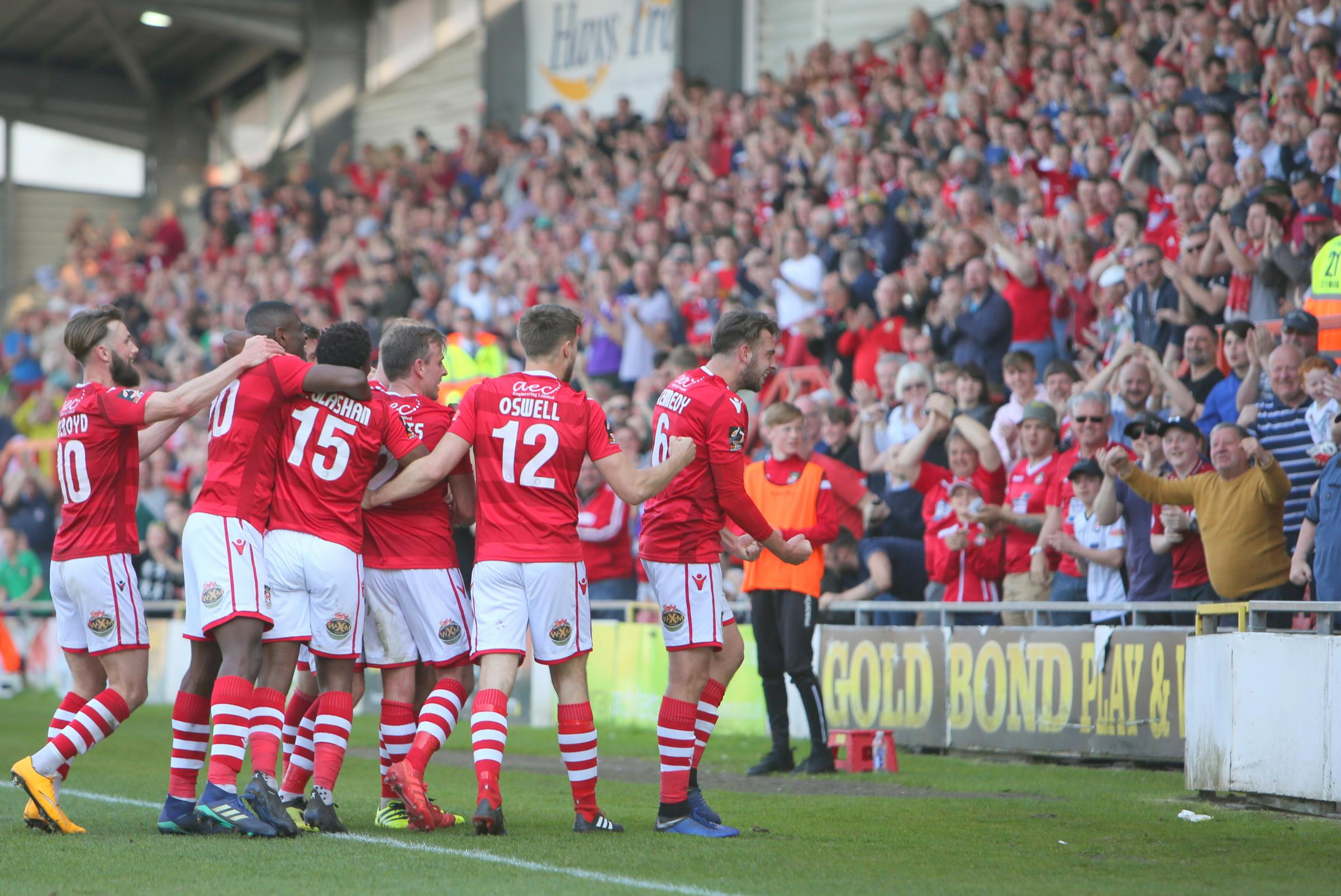 wrexham celebration