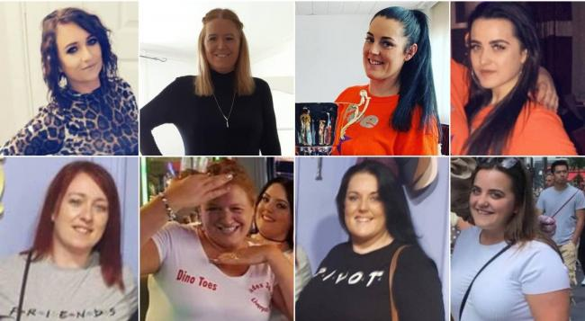 Flint slimmers celebrate losing 12 stone between them