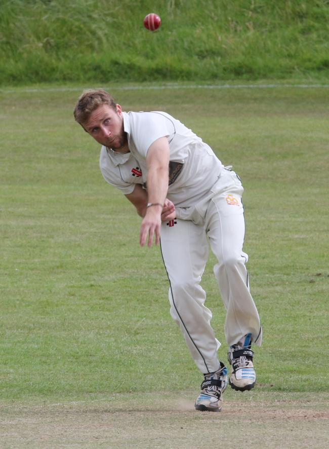 IN THE WICKETS: Andrew Swarbrick