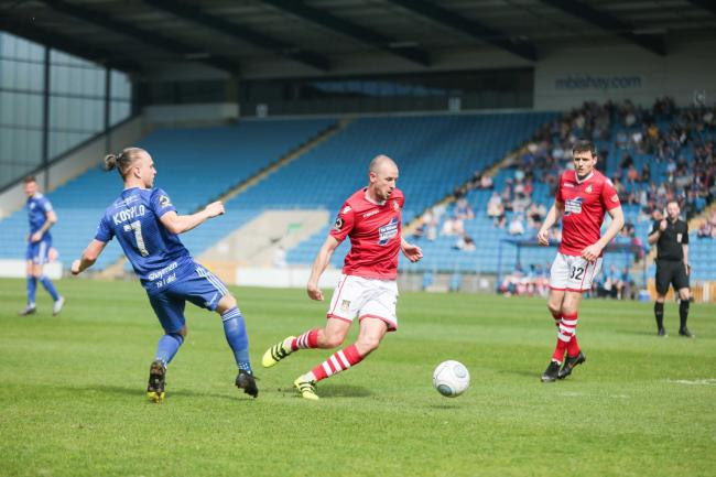 Halifax V Wrexham..cc220419HW.Luke Summerfield.