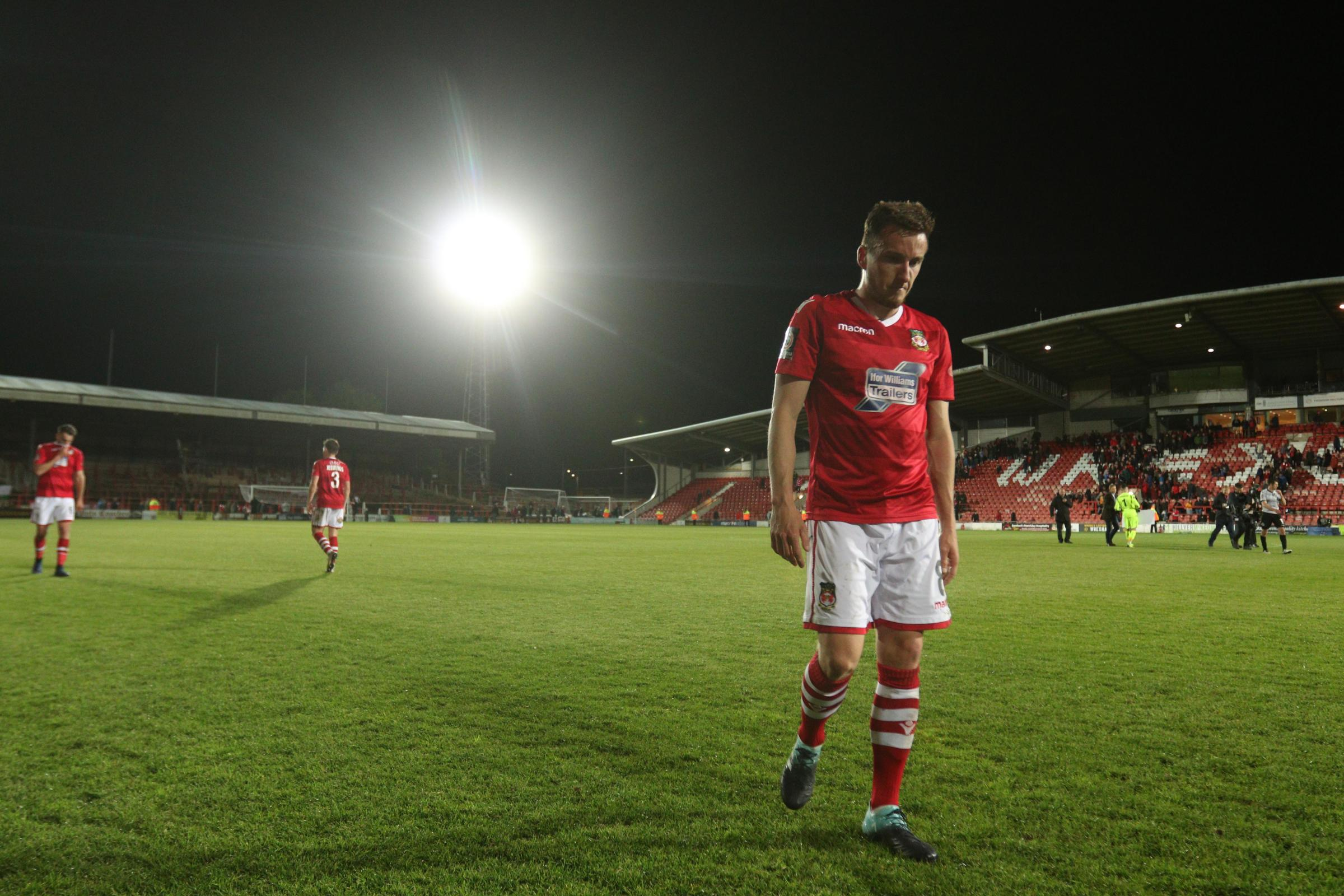 Wrexham AFC midfielder Luke Young admits play-off defeat is tough to take