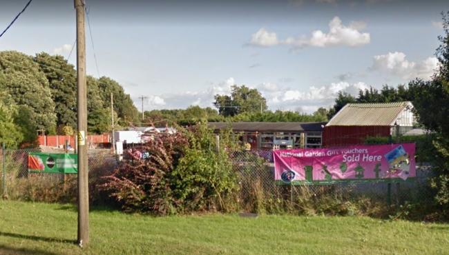 Wrexham Council previously rejected a similar development next to Ferndale Garden Centre in Caego. Source: Google